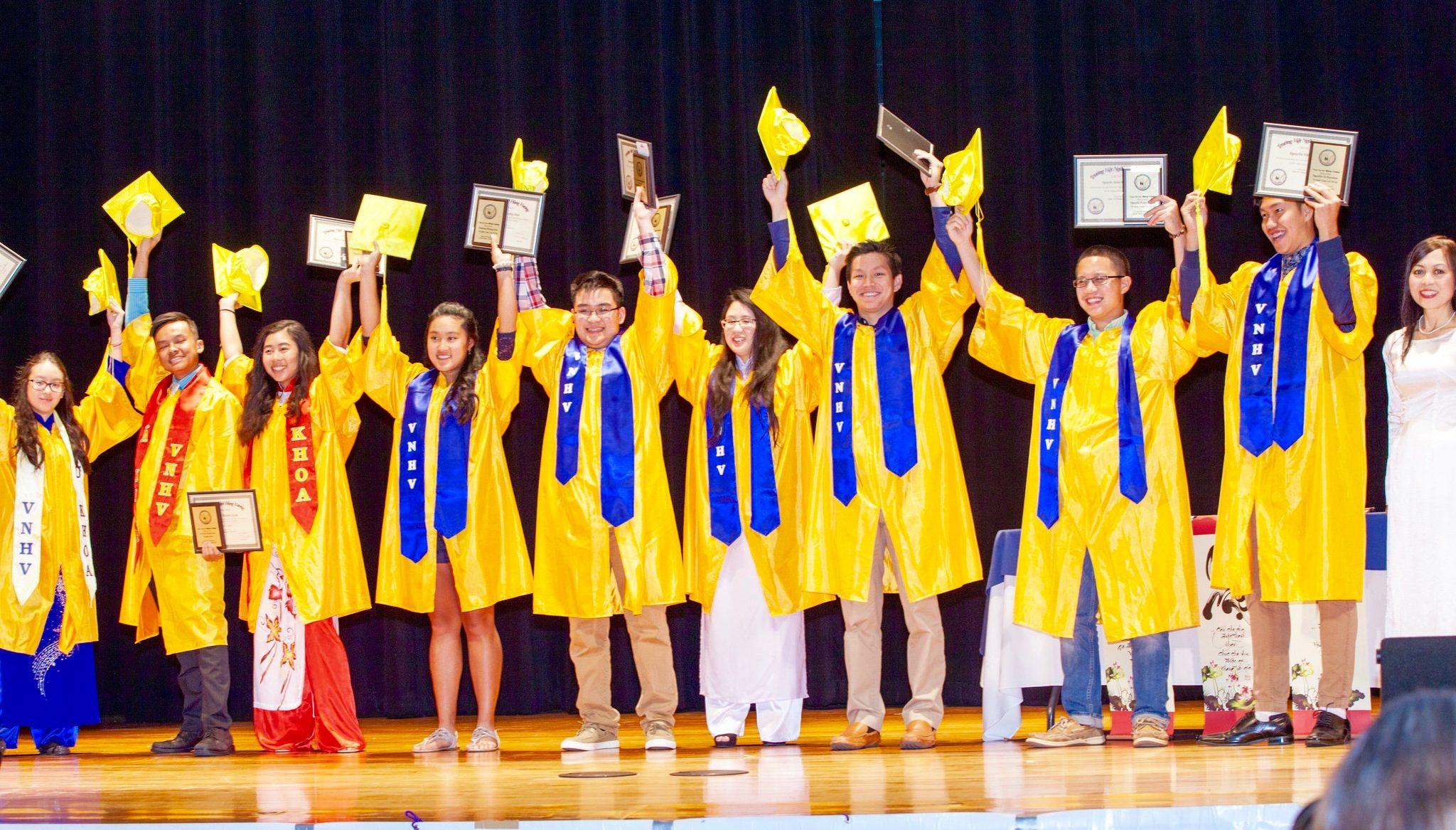 Lễ Tốt Nghiệp, Ghi Danh và Lễ Mãn Khóa – Graduation ceremony and Registration for 2018-2019